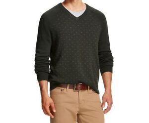 38bb6f7c2f1c New Merona Men s Elegant Vine V-Neck Sweater Size XXL