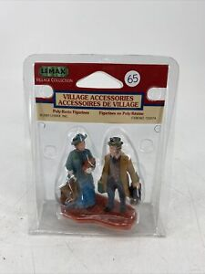 RARE Lemax 2001 Village Accessories Collection 12507 Travelling Couple NOS