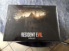 Resident Evil 7 Collector Backer's Mansion Xbox One ,ps4, pc neuf sous blister