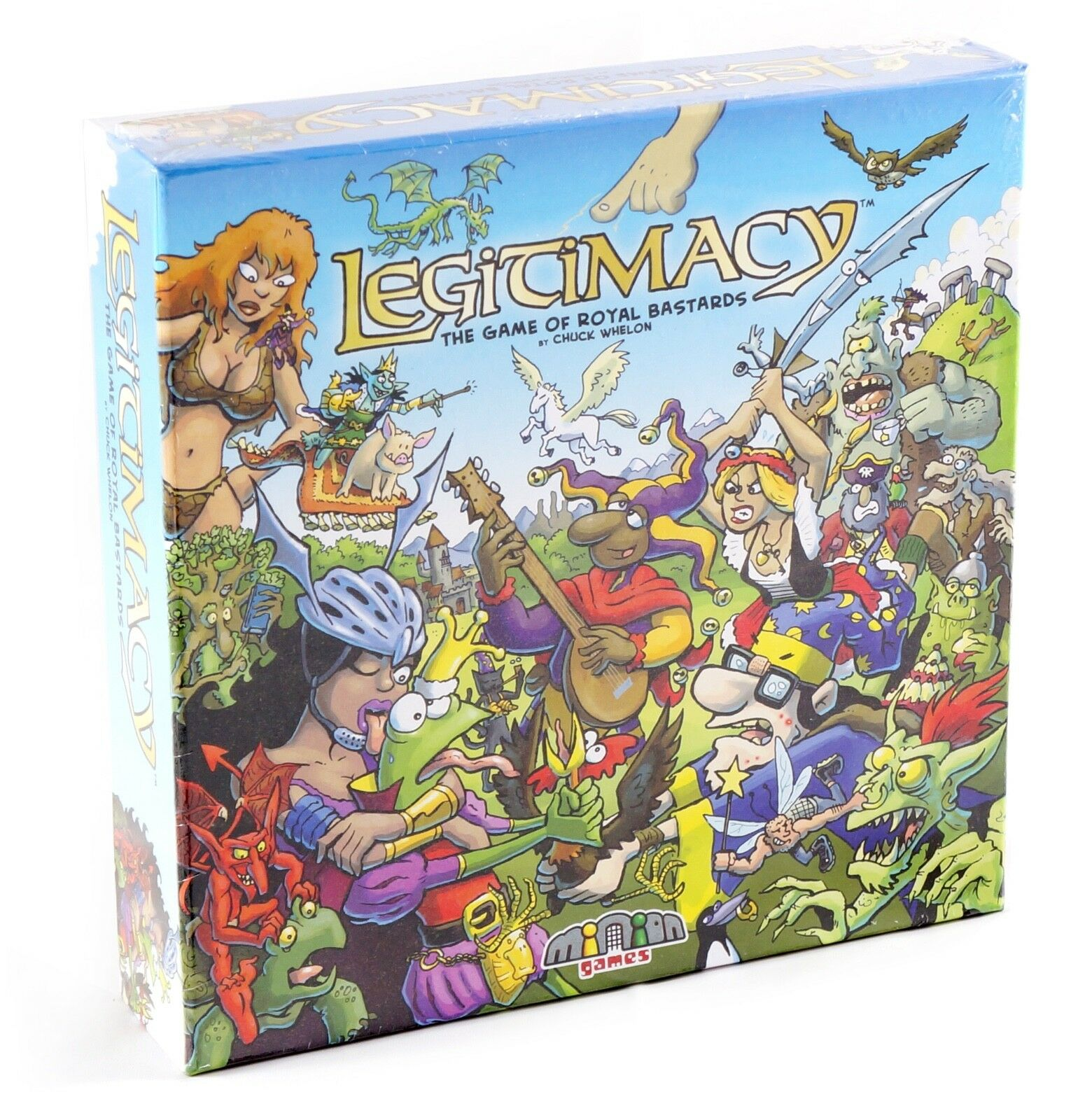 Legitimacy -  Minion Games Boardgame - WHOLESALE LOT of 20 SETS