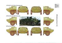 Hungarian Aero Decals 1/35 Russian Btr-60 Armored Personnel Carrier