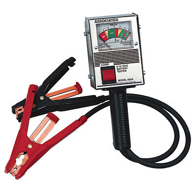 0-16 Volts DC Associated 6029 Battery Load Tester 125 Amp Load