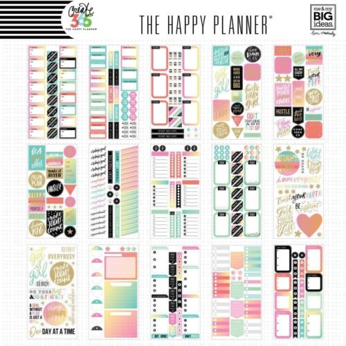 Create 365 The Happy Planner mamBi Value Pack Stickers PRODUCTIVITY PPSV-09 NEW!