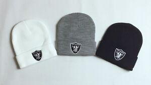 New-Supreme-Unisex-Women-Men-Raiders-Oakland-NFL-Plain-Girl-Fashion-Beanie-Hat