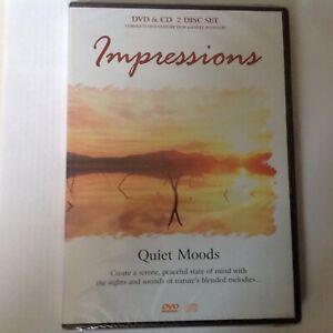 Impressions-Quiet-Moods-2-Disc-Set-DVD-amp-CD-New-amp-Sealed