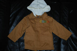 Toddler's COOGI Servant Beige Heavy Hooded Jacket (12 Months)