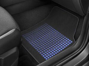 Original-SEAT-Textilmatten-Fussmatten-Set-Satz-034-Pixels-034-blau-Ibiza-MJ-2018-Arona