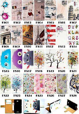 Luxury Flip Wallet Card Leather Case Cover Fr HuaWei series P8 Lite Y625 4C Y360