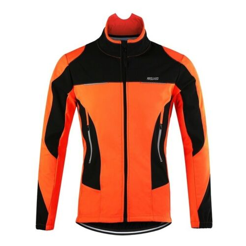 Thermal Cycling Jacket Winter Bicycle Windproof Waterproof Sports Coat Jersey