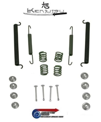 Handbrake Shoe Fitting Kit Kenjutsu Rear Brake For S30 Datsun 240Z L24