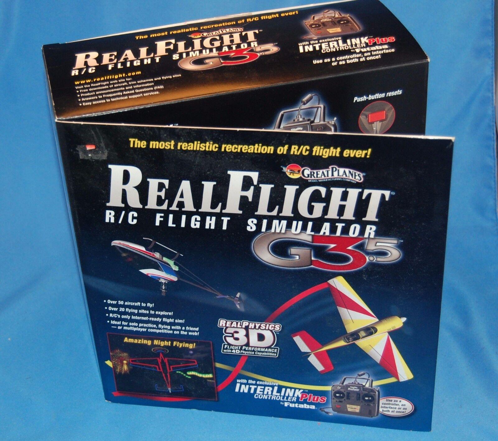 RealFlight R C G3.5 simulador de vuelo