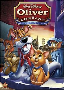 Oliver-amp-Company-New-DVD-Anniversary-Edition-Special-Edition-Widescreen-A