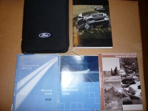 2004-FORD-F-150-OWNER-S-MANUAL-SET