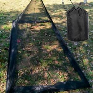Outdoor-Camping-Moskitonetz-Netting-Abdeckung-Baldachin-Fit-Reise-Schlafzelt