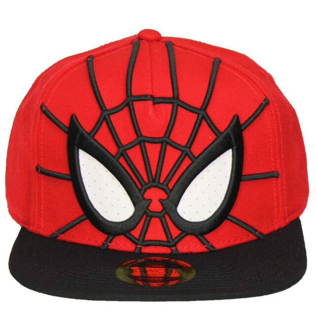 NEW OFFICIAL Marvel Ultimate Spider-Man Spidey Baseball Cap Hat Snapback 9aae24ce995
