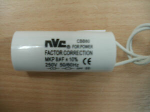 Image is loading Power-factor-correction-capacitor-for-fluorescent-lighting -5mF- & Power factor correction capacitor for fluorescent lighting 5mF ... azcodes.com