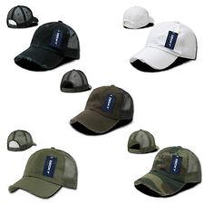 Vintage Washed Distressed Trucker Hat Decky Snapback Baseball Cap 1 Dozen Hats