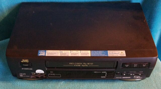 *VINTAGE* JVC HR-VP658U VCR Video Cassette Recorder  TESTED  *