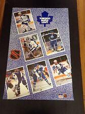 1990 Toronto Maple Leafs Orig. Starline Poster OOP Bester Clark Iafrate Olczyk