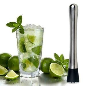 Cocktail-Muddler-Stainless-Steel-Handle-Bar-Mixer-Barware-Cock-Mojito-Drink-P6E7