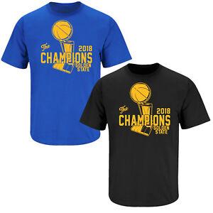 sports shoes 71de4 b0eaf Details about Golden State Warriors 2018 Champions Shirt