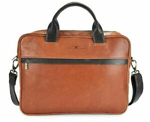Urban Forest Leather 8.4L Shoulder Sling Laptop Messenger Bag