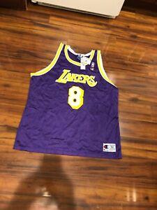 NWT Los Angeles Lakers Kobe Bryant Purple Champion Jersey 52 New ...