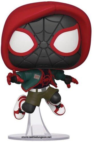 Spider-Man Miles Morales Into the Spider-Verse Casual Miles Morales Pop!