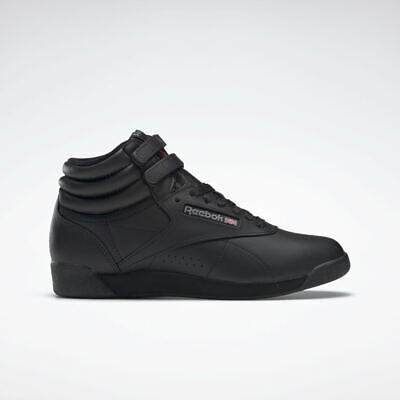 Reebok Freestyle Hi Sneaker Donna Nero   eBay