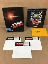 "Mission Impossible PC Game - 5.25"" Disks - 1991 Konami - Complete"