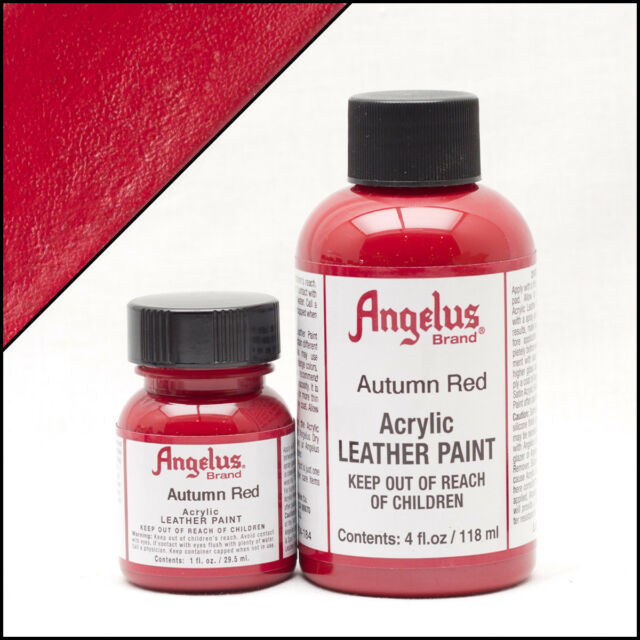 Angelus Autumn Red Leather Paint 1 Oz