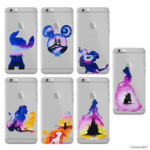 purchase cheap f2375 8f3de Details about Disney Watercolour Gel Case for Apple iPhone 6 6s Plus 5.5  Inch Screen Protector