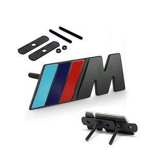 oem grille m emblems badge 3d for bmw m3 e36 e46 e90. Black Bedroom Furniture Sets. Home Design Ideas