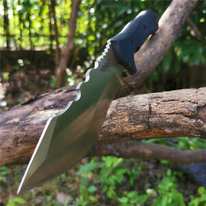 Genuine-Huge-Fixed-Blade-Knife-Large-Bowie-Camp-Straight-Survival-Tactical-Knife
