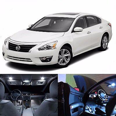 LED White Lights Interior License Package Kit For Nissan Altima 2007-2015+