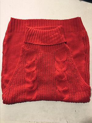 Sexy Womens Backless Sleeveless Virgin Killer Cosplay Sweater Turtleneck Knit