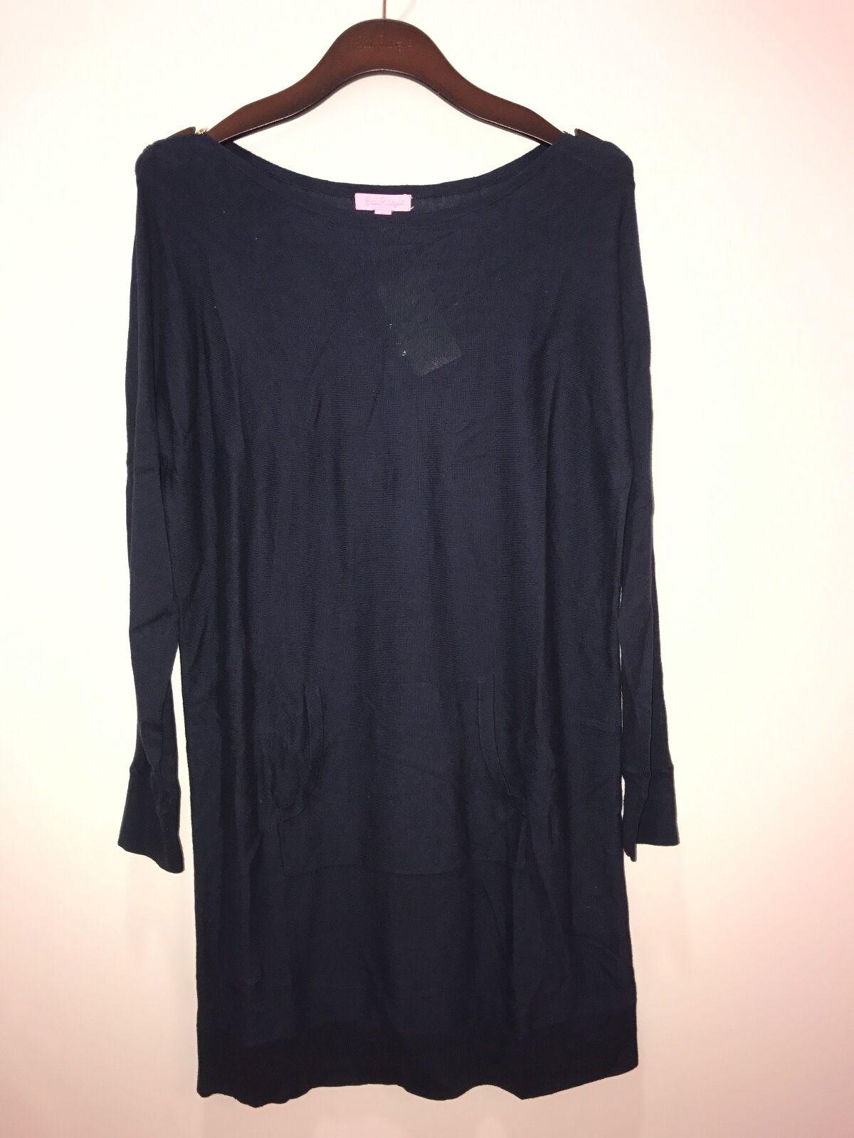 NWT Lilly Pulitzer Jupiter Sweater Dress True Navy Size XXS XXS XXS ff2baa