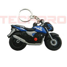 R1400411 Rubber Key Chain with Single sided Pulsar design