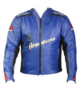 Suzuki-GSXR-Motorcycle-Jackets-Biker-Racer-Leather-Motorbike-Armour-Jacket
