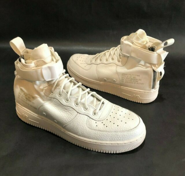 Nike SF Af1 Mid PRM Special Field White