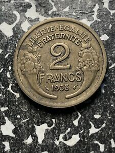 1 Coin Only 1921 France 2 Francs Circulated 2 Available