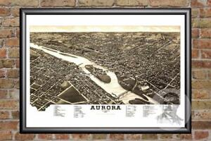 Vintage-Aurora-IL-Map-1882-Historic-Illinois-Art-Old-Victorian-Industrial