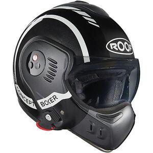 Roof-Boxer-V8-LP20-Inner-City-Elicottero-spia-PARAFANGHI-CASCO-NERO-Metallico