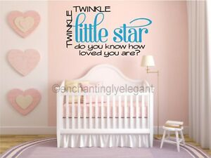Image Is Loading Le Little Star Baby Nursery Vinyl Decal