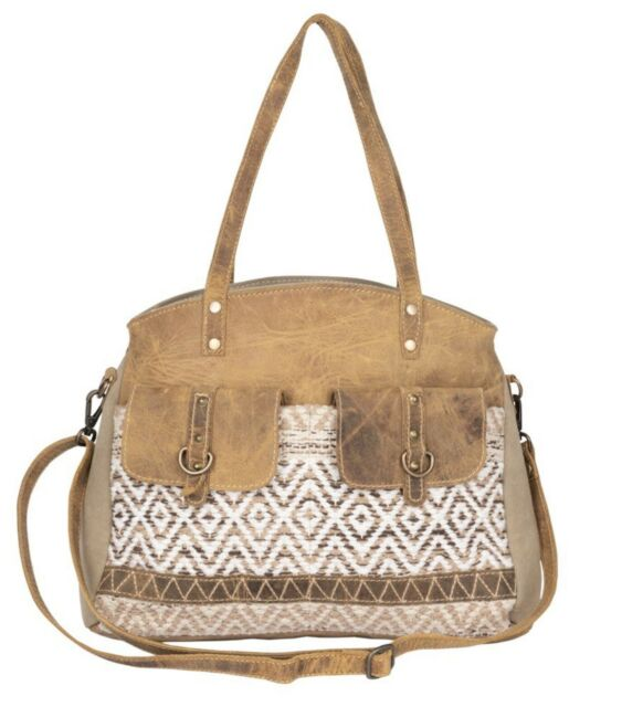 Myra Bag Cherish Tote Bag Brown Multu Leather Canvas Rug For Sale Online Ebay Explore here list of leather bags, leather bags manufacturers, suppliers and exporters in india. myra bag cherish tote bag brown multu leather canvas rug