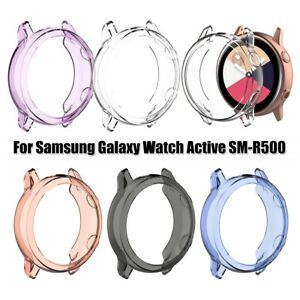 Clear-TPU-Watch-Case-Cover-40mm-for-Samsung-Galaxy-Watch-Active-SM-R500-5-Colors