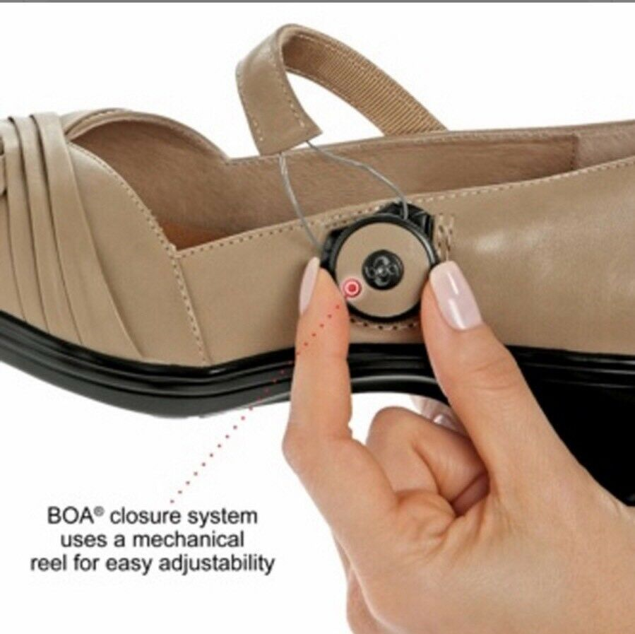 NEW damen's Dr. Comfort Leather schuhe Mary Mary Mary Jane BOA Closure Diabetic Heels 8W 1d33fd