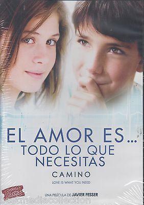 Camino DVD NEW El Amor Es Todo Lo Que Necesitas ORIGINAL Javier Fesser SEALED