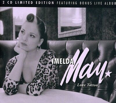 Love Tattoo: Special Edition - 2 DISC SET - Imelda May (2009, CD NUEVO)