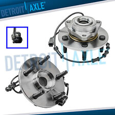 Pair 2 Front Wheel Hub And Bearings For 2002 2005 Dodge Ram 1500 With Abs 5lugs